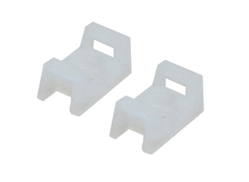 Saddle Type Tie Mount .5 Length - 100 Pack