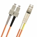 SC-LC Fiber Patch Cable, Multimode 50/125 OM2, Duplex