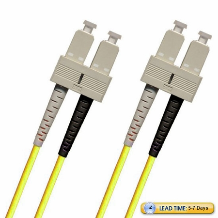 SC-SC Fiber Patch Cable, Multimode 50/125 10 Gig OM3, Duplex