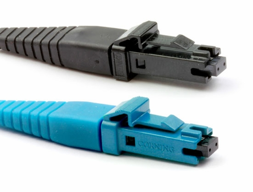 Secure MT-RJ Female to MT-RJ Female, MM OM3 Fiber Patch Cables