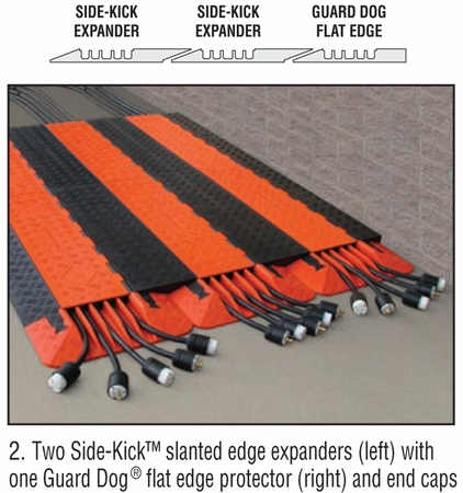 Side-Kick™ 5-Channel Expander with Slanted Edge for Guard Dog 5-Channel Protectors