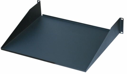 Single Sided  Black Shelf - ES0319-0210 - 19W X 10D, 2U