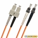 ST-SC Fiber Patch Cable, Multimode 50/125 OM2, Duplex