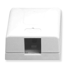Surface Mount Box, 1-Port
