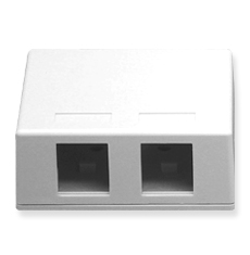 Surface Mount Box, Elite, 2-Port
