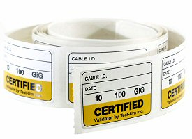 Validator™ Cable Labels, Roll of 100