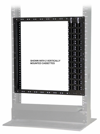 Vertical Mount Brackets for HD MTP/MPO-LC 1RU Cassettes