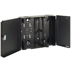 Wall Enclosure, 4-Panel, Dual Door