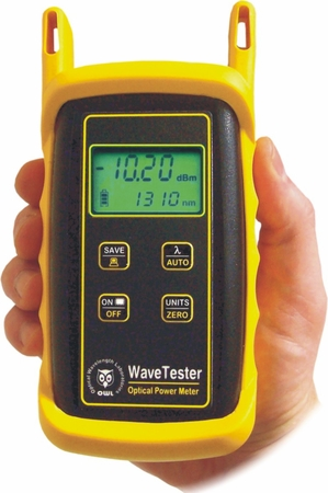 WaveTester optical power meter
