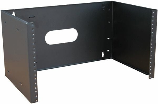 WB19-0406H Hinged Wall Mount Bracket, 7H x 19W x 4 Rack Mount Space