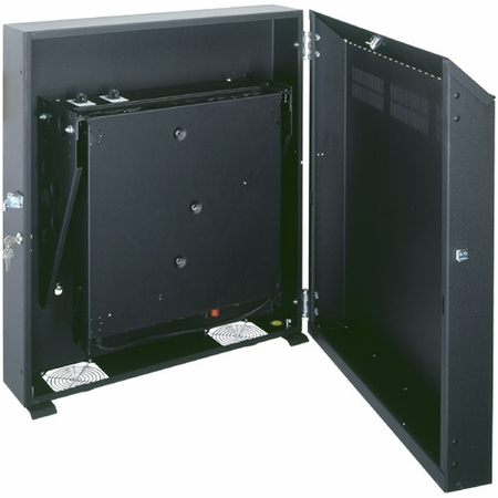 WRS-6 19 Low-Profile Wall Mount Rack