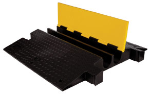 yellow jacket classic 2 channel cable protector - 4 in  channel
