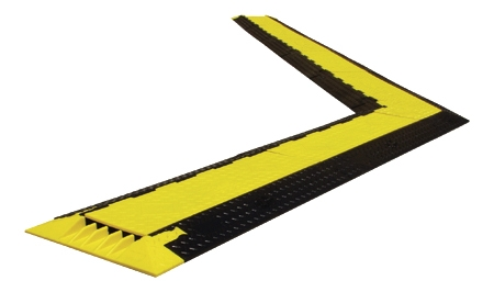 Yellow Jacket Classic 3 Channel Cable Protector - Wide