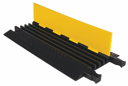 Yellow Jacket Classic 4 Channel Cable Protector - 1.25 Channel