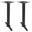 """5"""" X 22"""" Commercial Table Height Caf� Table End Base"""