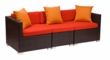 Aruba Outdoor Synthetic Wicker Sofa Sectional Furniture