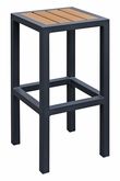 Atlantic Collection Backless Bar Stool