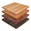 """1 1/2"""" Thick Maple Wood Butcher Block Restaurant Table Top - Many Sizes, Shapes, Stains Available"""