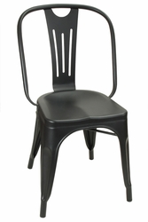 Hektor Collection Black Powder Coat Chair