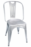 Hektor Collection Brush Aluminum Chair