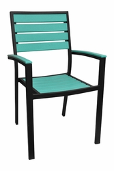 Caribbean Collection Poly Lumber Arm Chair