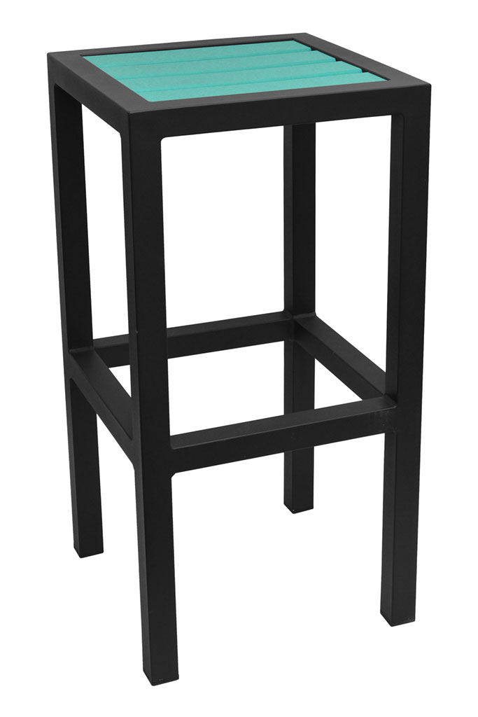 Caribbean Collection Poly Lumber Backless Bar Stool