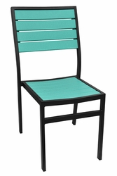 Caribbean Collection Poly Lumber Side Chair
