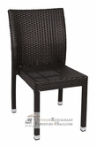 Cayman Collection Synthetic Wicker Side Chair