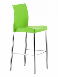 Commercial Outdoor Resin Plastic Restaurant Bar Stools