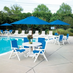 Commercial Resort Deck and Patio Seating