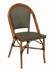 Florida Seating Hand Painted Aluminum Bistro Chair