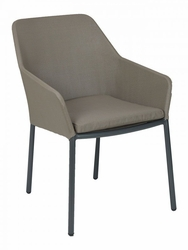 Florida Seating Madeira Taupe Aluminum Chair