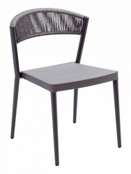 Florida Seating Restaurant Chair with Rope Back