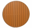 """Gulf Coast Collection Teak Inspired Outdoor 30"""" Round Table Top"""