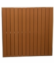 """Gulf Coast Collection Teak Inspired Outdoor 36"""" Square Table Top"""