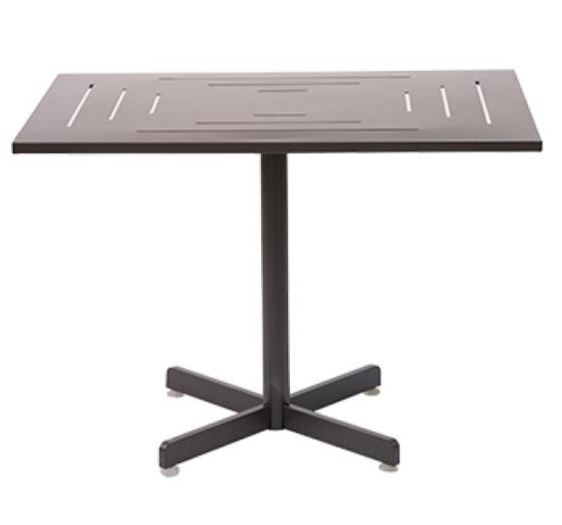 Laser Cut Aluminum Commercial Outdoor Table Top