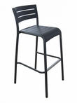 Outdoor Aluminum Riviera Restaurant Bar Stool