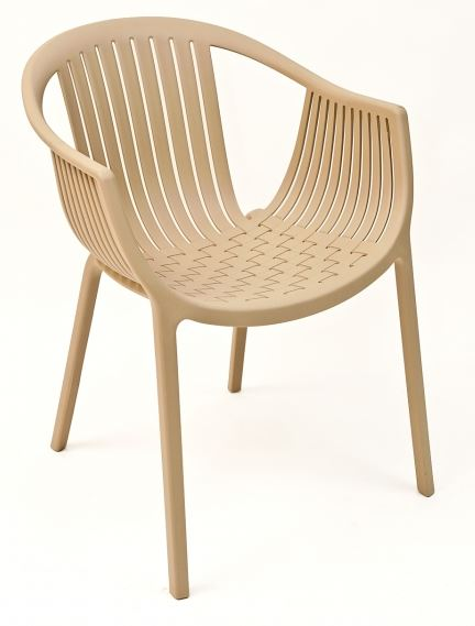 Outdoor Tatami Pedrali Restaurant Chair In Cocoa Or White
