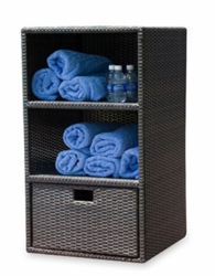 Resort Towel and Cushion Storage