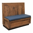 Single Urban Distressed Wood Booth