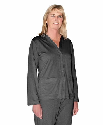 MIX AND MATCH PJ TOPPER WITH POCKETS-SOLID