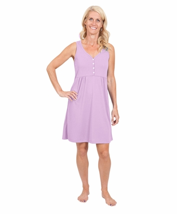 MOISTURE WICKING BABYDOLL NIGHTGOWN