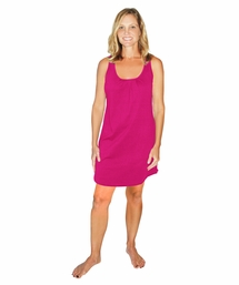 MOISTURE WICKING SCOOP NECK TANK GOWN