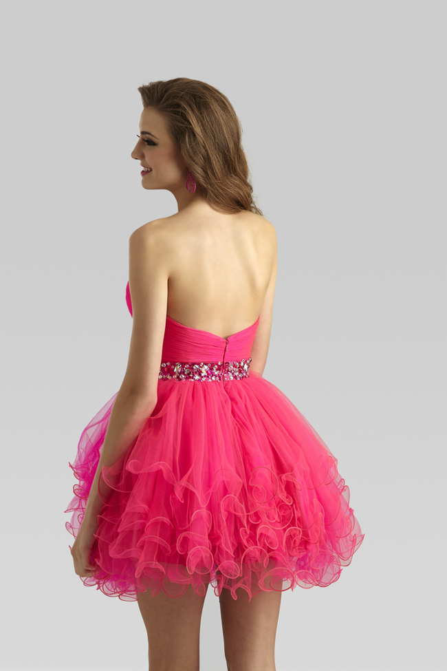 Clarisse 2014 Winter Mint Hot Pink Royal Blue Short Tulle Baby Doll ...