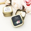 Floral Garden Personalized candle Favor