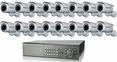 16 Camera CCTV Systems, Complete 16 Camera Video Surveillance Systems