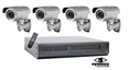 4 Camera CCTV Systems, Complete 4 Camera Video Surveillance Systems