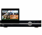 "4 Ch Video 4Ch Audio Realtime 120 fps CCTV DVR with Built-in 7"" LCD Screen, 500 GB HDD Included"