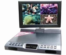 """All In One 4 Channel DVR with Built-In 10"""" LCD Monitor, Smartphone Support, h.264 Codec"""