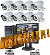 DVS9060IR Complete 8 Camera Surveillance CCTV System - Best Selling System for Business